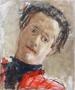 Autoportret, Londra, 1952