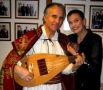 Ion Creţeanu - cadou aniversar pentru Felicia Filip şi Cristian Mihăilescu