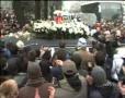 REMEMBER. Coroana de 1.300 de garoafe de la înmormântarea lui Marian Cozma...