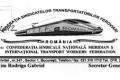 Sindicatele feroviare protestează în faţa Ministerului Transporturilor