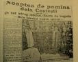 """O CATASTROFĂ MAI MARE DECÂT LA """"COLECTIV"""": Paştele de foc de la Costeşti, soldat cu 144 de morţi"""
