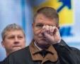 Manifestările de stradă au fost deturnate de Klaus Iohannis
