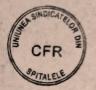 UNIUNEA SINDICATELOR DIN SPITALELE CFR. Apel la solidaritate cu cauza minerilor din Federatia Natională Mine si Energie
