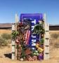 """""""Zidul lui Trump"""" în miniatură, construit de doi artisti americani"""