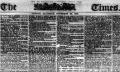 """THE TIMES, 30 nov. 1867: """"Românii au mai mult respect pentru idealurile lor măreţe decât alte popoare"""""""