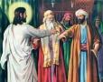 """Iisus către ierarhii de ieri si de azi ai bisericii: """"Vai, vouă, pui de năpârci, călăuze oarbe, morminte văruite!"""""""