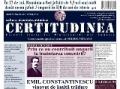 """Cititi în """"CERTITUDINEA"""" nr. 1: Emil Constantinescu, vinovat de înaltă trădare"""
