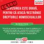 Altă manipulare privind referendumul: cică restrânge drepturile homosexualilor