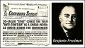 BENJAMIN H. FREEDMAN despre războiul mondial al evreilor împotriva Germaniei