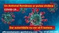 Un Antiviral Natural Românesc ar putea vindeca bolnavii de COVID-19. Autoritătile nu sunt interesate să-l testeze